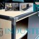matiere brute - Mobilier / meuble  bois métal