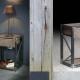 Table de Chevet MADURA - Mobilier meuble bois métal