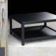 Table basse ALBANY - Mobilier meuble en acier