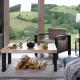 Table basse AUGUSTA - Mobilier meuble bois acier